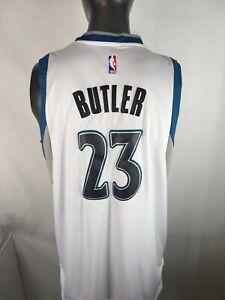 newest 849bc 0576f Details about Adidas Jimmy Butler #23 Minnesota Timberwolves Swingman  Jersey L Length +2 Sewn