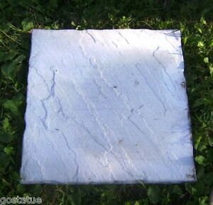 "Slate paver mold mould 16/"" x 16/"" x 1.5/"" cast 100/'s"