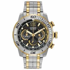 Citizen Eco-Drive Men's CA4084-51E Primo Stingray 620 Chronograph Two-Tone Watch