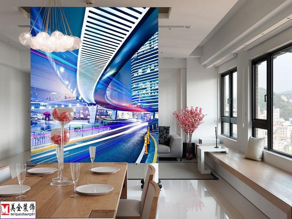 3D Kunst Stadt Fotografie 73 Tapete Wandgemälde Tapete Tapeten Bild Familie DE