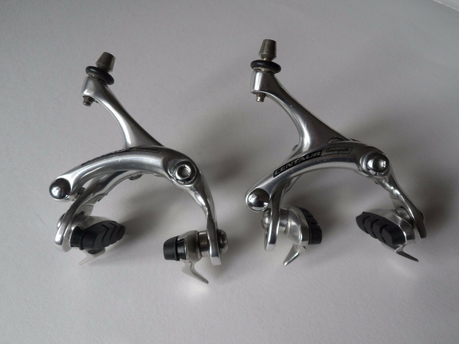 Vintage Campagnolo Centaur dual pivot brake calipers with new pads