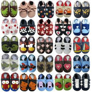 1ff4678bf0708 carozoo FR bébé chaussons enfant chaussures cuir jusqu à 8 ans boys ...