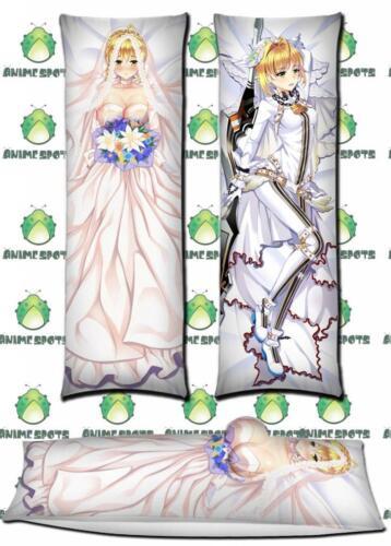 Saber Fate Stay Night SA065 Anime Dakimakura 3D body pillow case