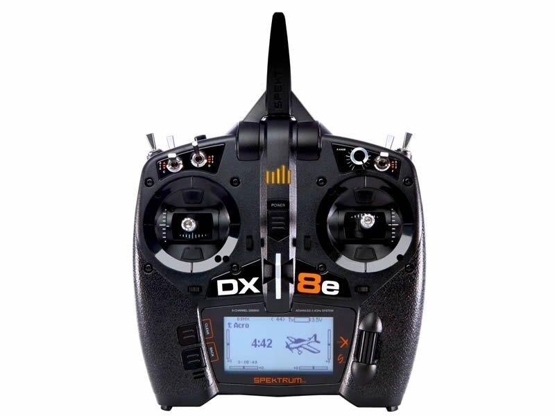 Spektrum DX8e 8 Canales Transmisor De sólo P-SPMR 8100EU