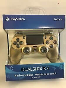 Official New Sony PS4 DualShock Wireless Controller - Gold - 2G (Sony)