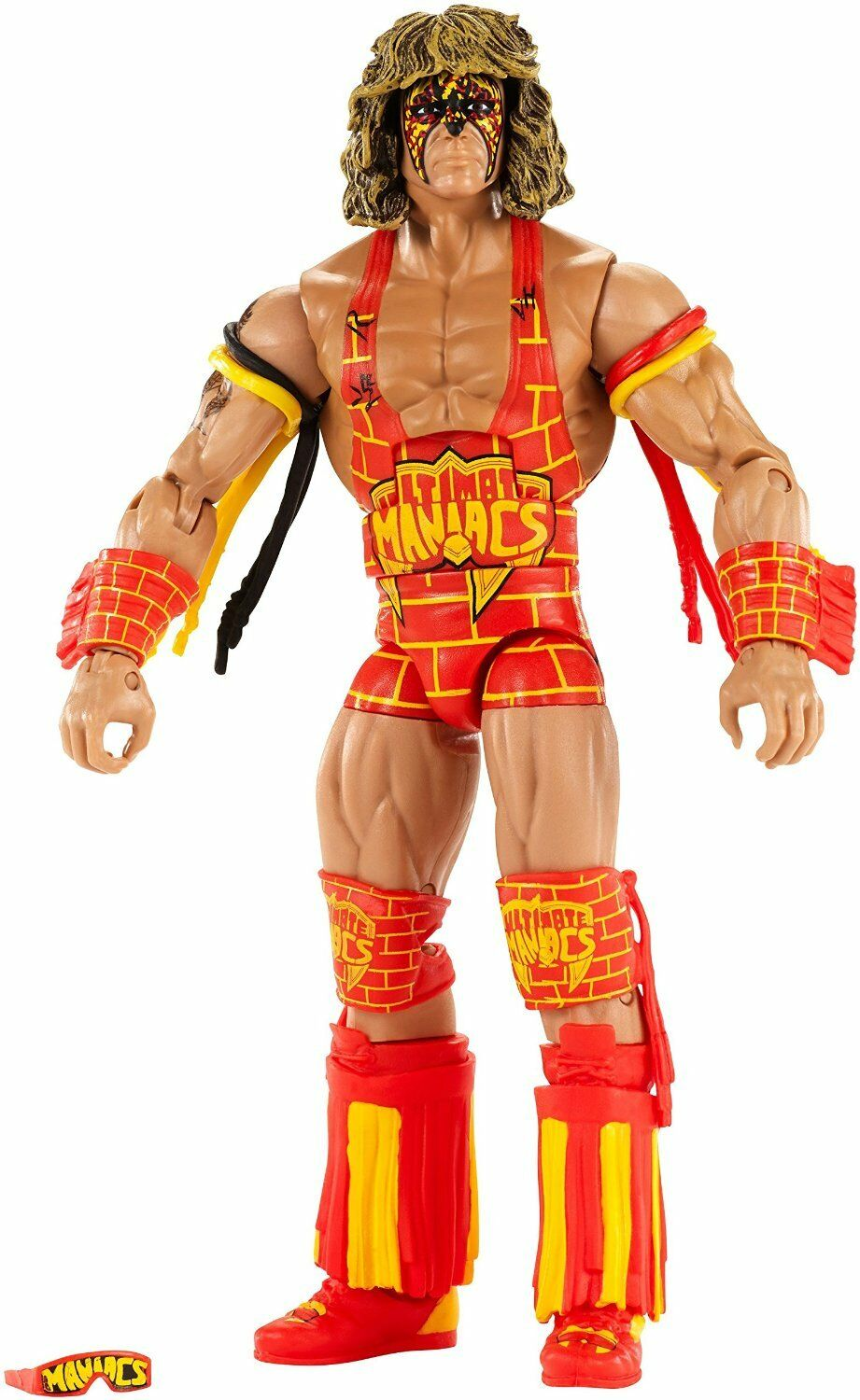 Official WWE Mattel Defining Moments Ultimate Warrior Maniacs 2016 Figure Figure Figure 630e41