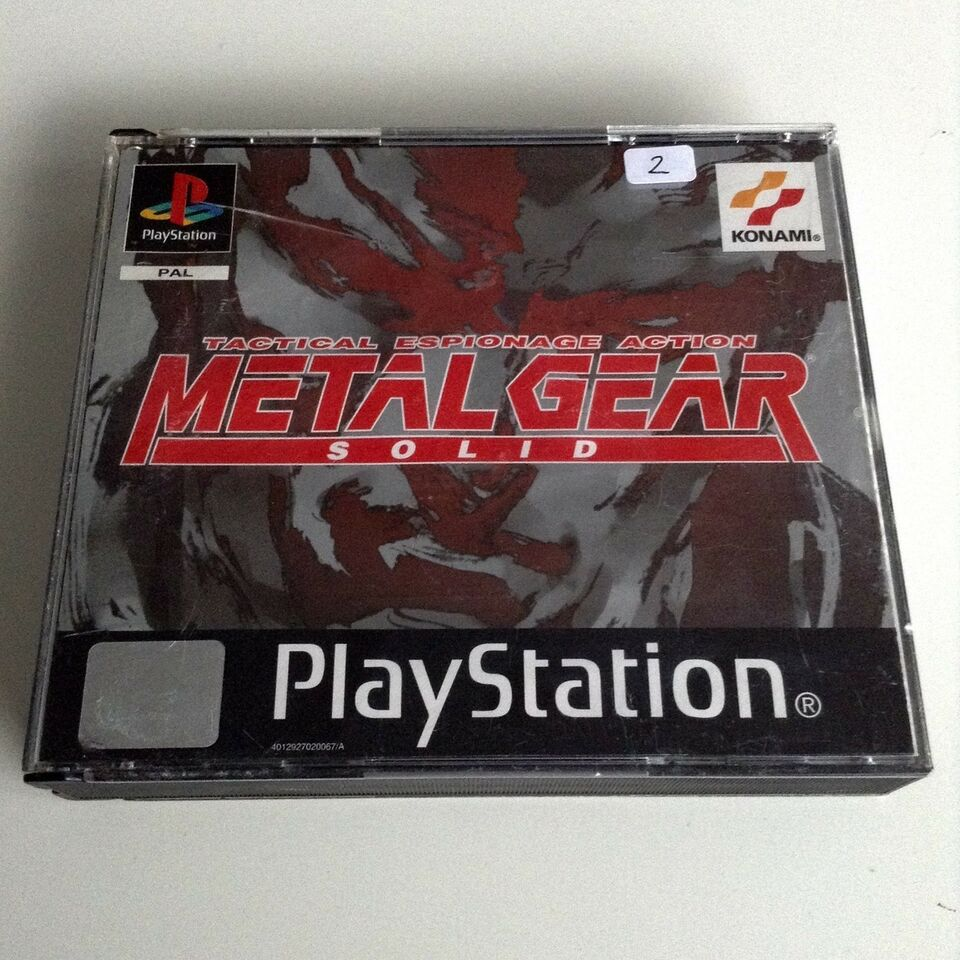 Metal Gear Solid, PS, action