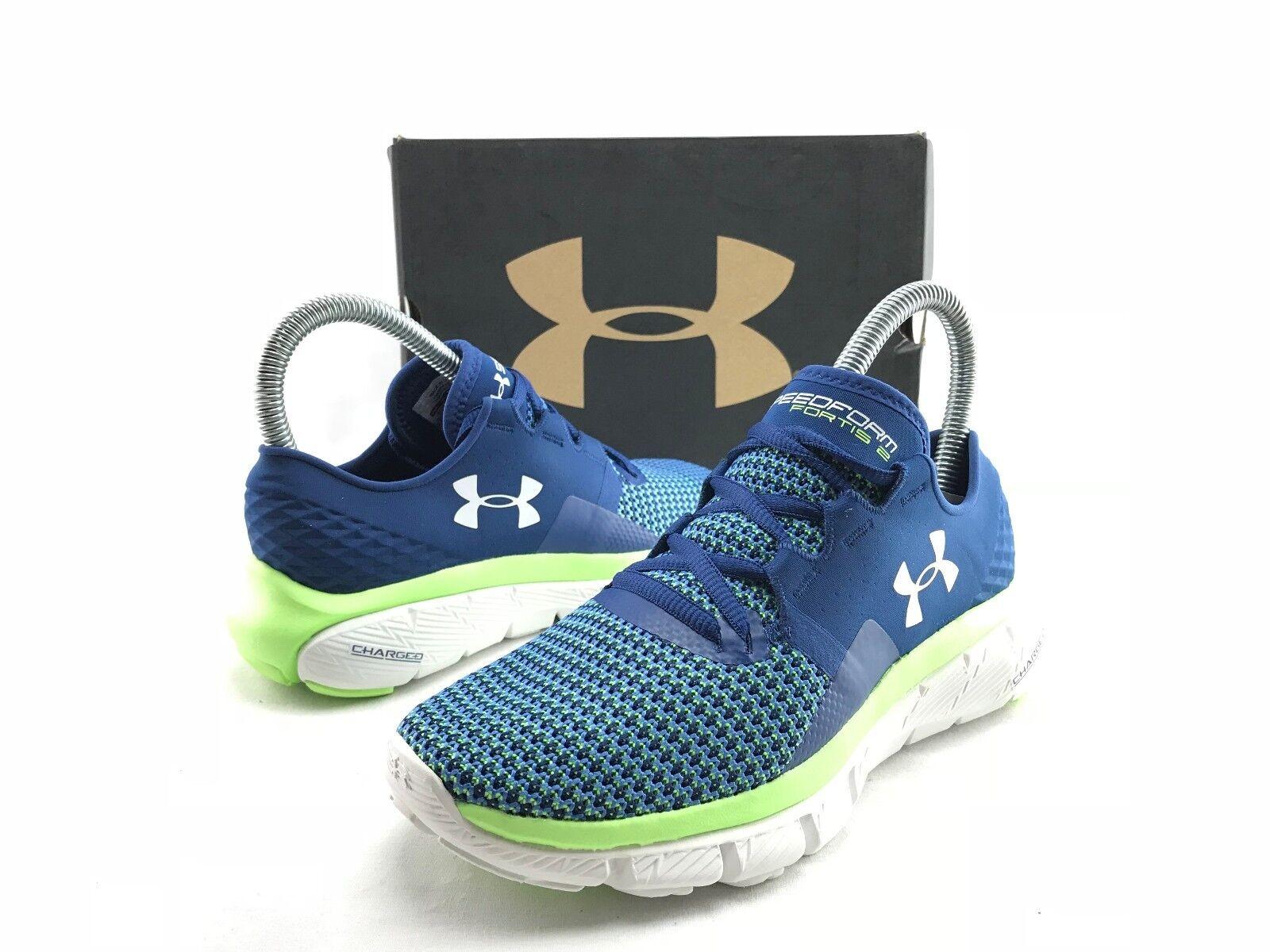 Under Armour Speedform Fortis 2 Damens's Blau Running B869 Schuhes Sneakers US 5 B869 Running 78788c