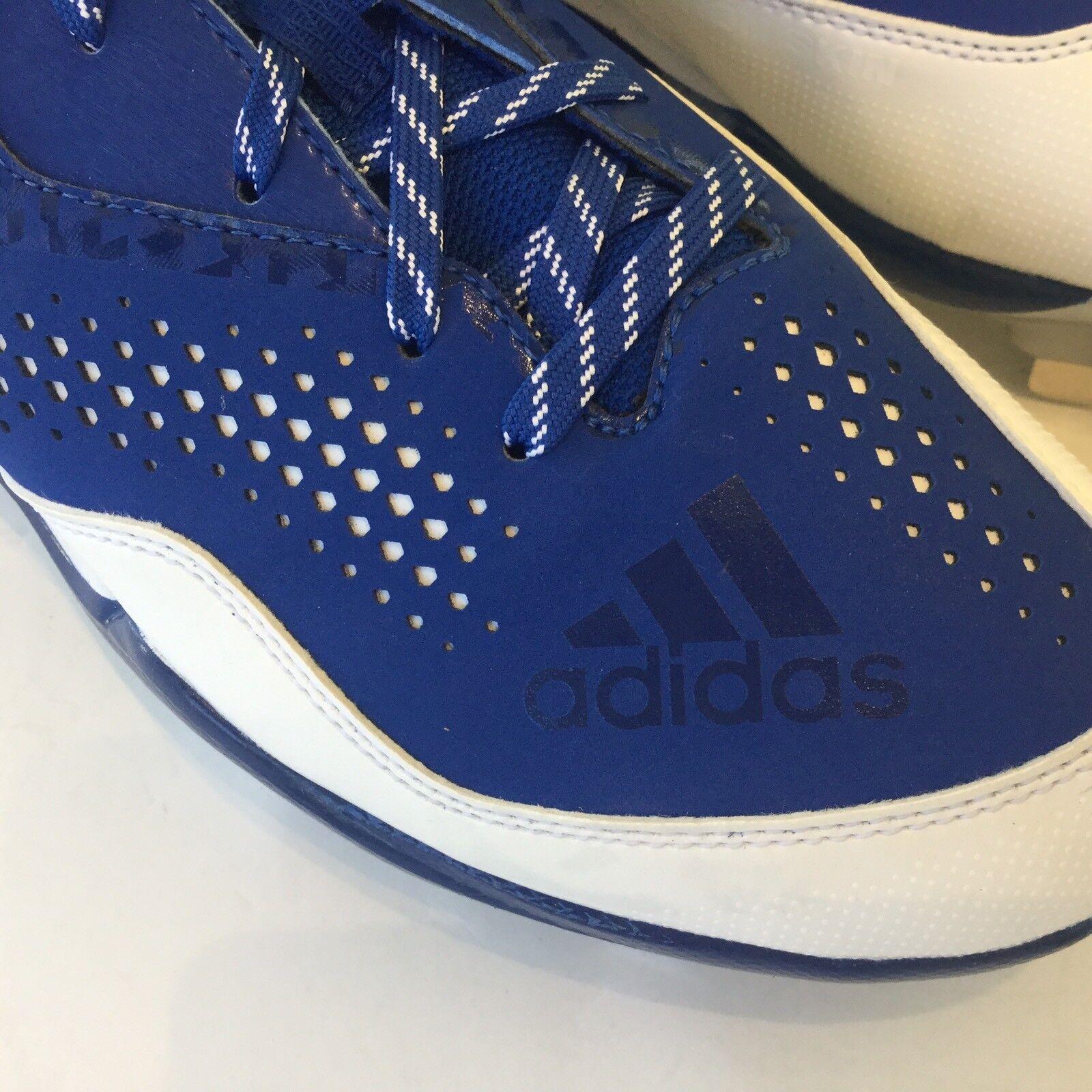 Adidas uomini sz sz sz 9 baseball di metallo, potere bianco & blu q16487 nuovovicolo 4   Alta qualità e basso sforzo  dccea4