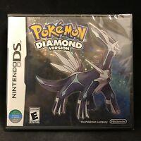 Pokemon: Diamond Version (nintendo Ds, 2007) Brand / Region Free / English