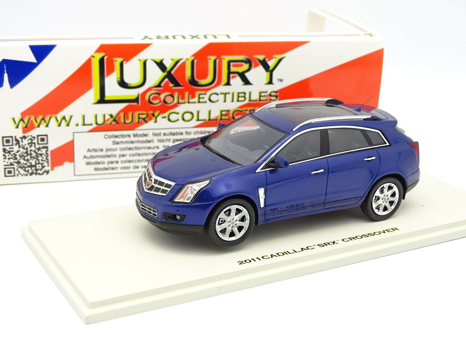 Luxury Collectibles 1 43 - Cadillac SRX Crossover 2011 blue