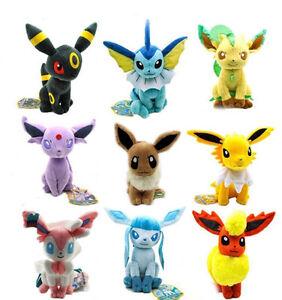 Pokemon-Character-Center-Eevee-Umbreon-Espeon-Vaporeon-Plush-Stuffed-Toys-Doll