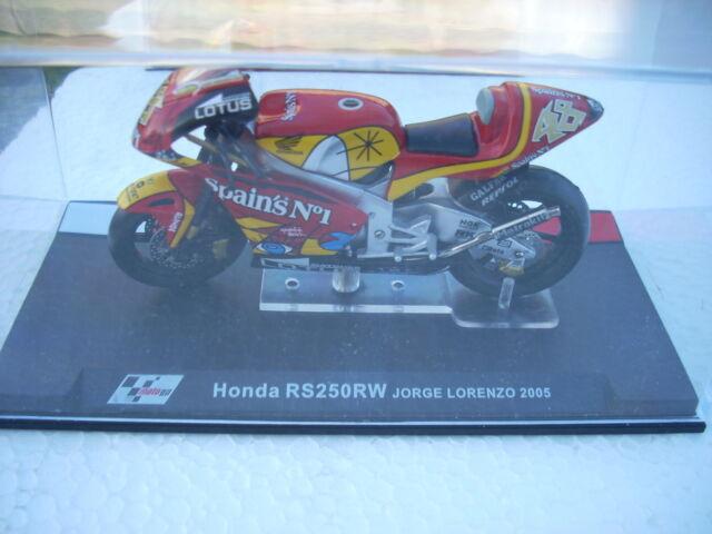 HONDA RS 250 RW JORGE LORENZO 2005 scala 1\24