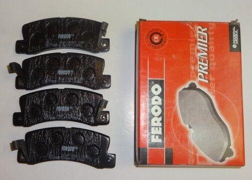 Ferodo FDB478 Brake Pad Set Rear Axle Premier Car Replaces 0446620100