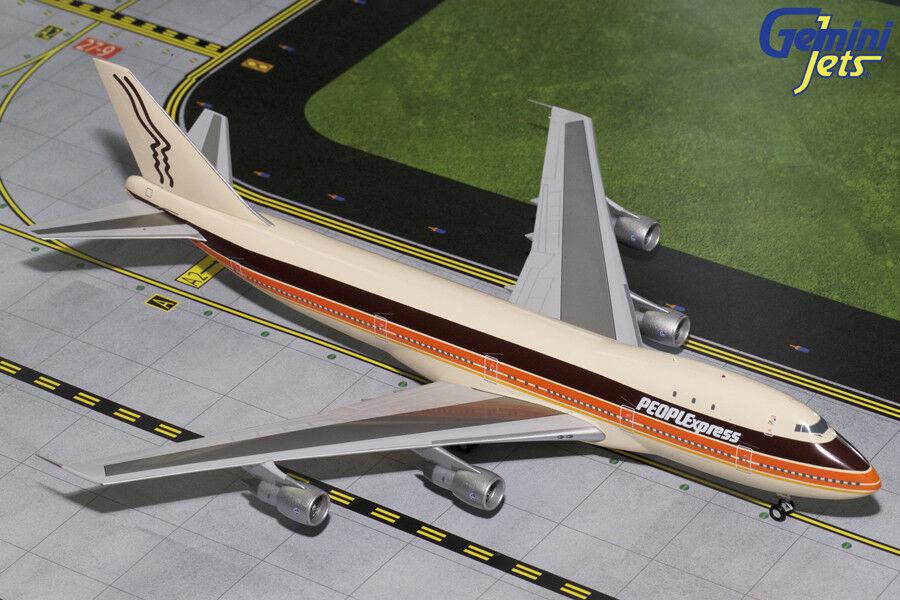 PEOPLExpress Boeing 747-100 N603PE GeminiJets 1 200 200 200 Diecast