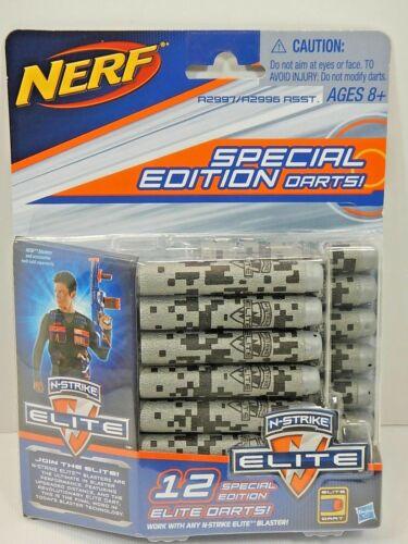 OR 24PK Nerf N-Strike Elite Special Edition Elite Darts  GREY 12PK