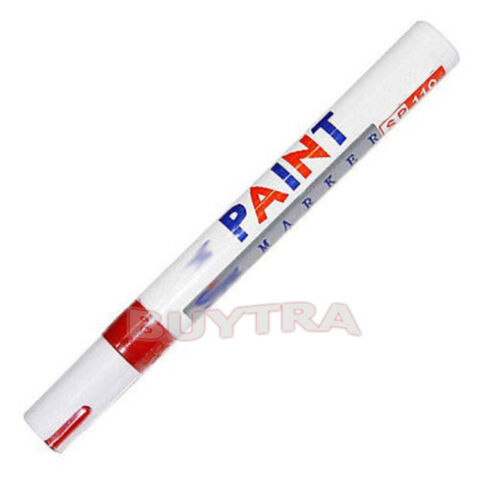 Permanent Waterproof Car Tyre Tire  Metal Marker Paint Pen Quick-drying
