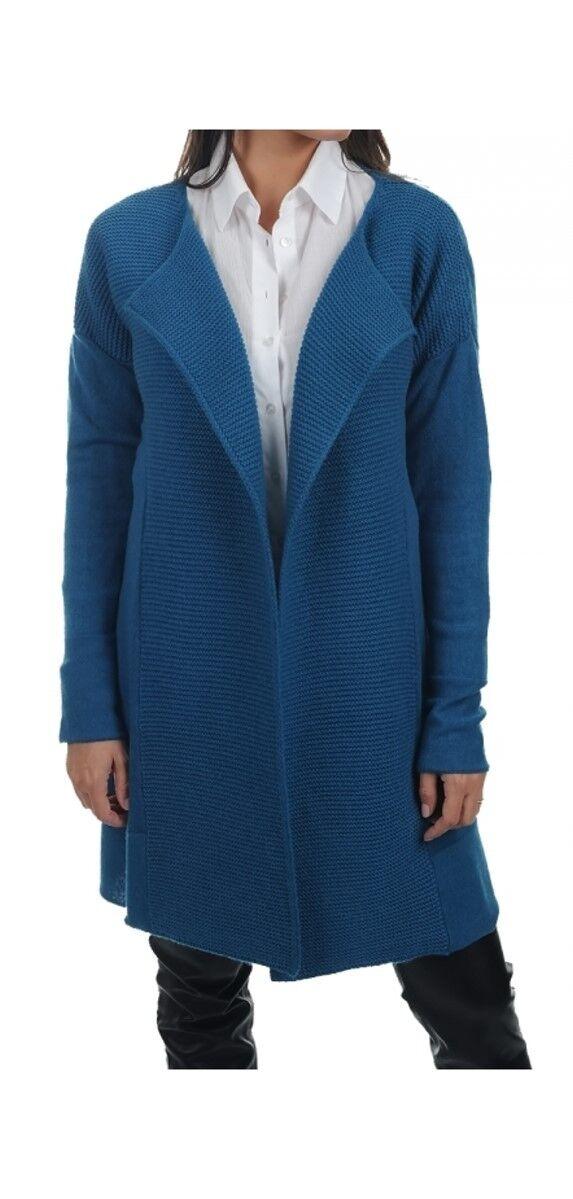 Balldiri 100% XL blau 2 fädig 8 Mantel Damen Kaschmir