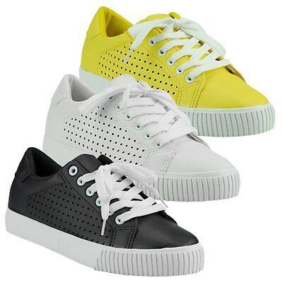 Ausdrucksvoll 20031 Damen Sneakers Low Sportschuhe Schnürschuhe Sommerschuhe Bereitstellung Von Annehmlichkeiten FüR Die Menschen; Das Leben FüR Die BevöLkerung Einfacher Machen