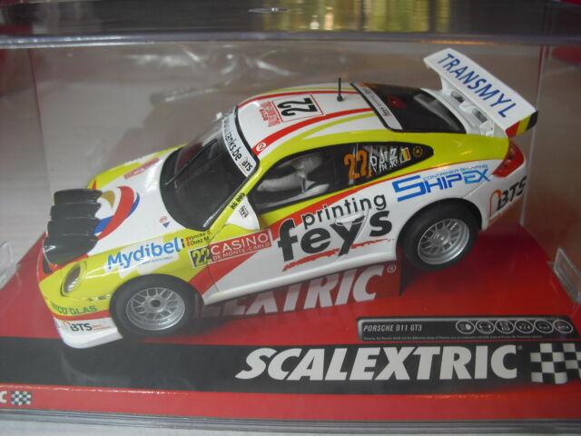 OFERTA NOVEDAD  SCALEXTRIC A10219S300 PORSCHE 911 GT3 RALLY  DUEZ  1/32  new