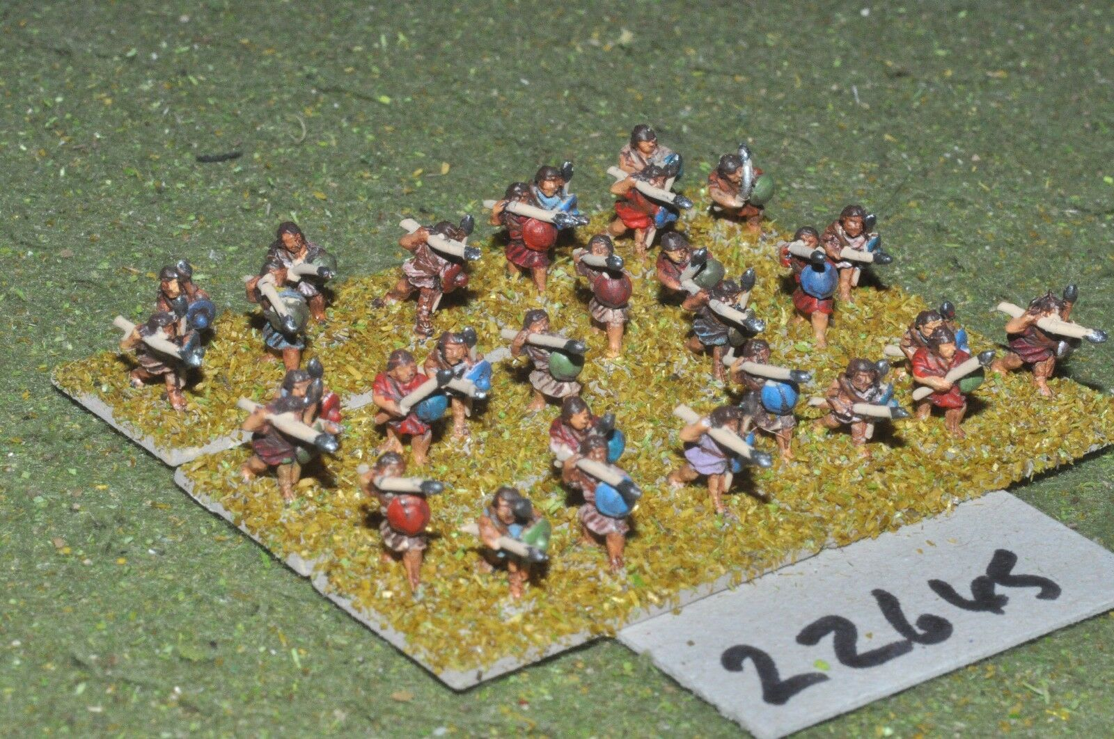 10mm Classical   greek - javelinmen 30 figures - inf (22645)