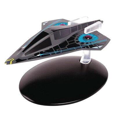 #87 Star Trek Federation Timeship Aeon Die Cast Metal Ship-UK//Eaglemoss w Mag