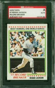 SGC-Authentic-Original-Autograph-of-Reggie-Jackson-HOF-of-the-New-York-Yankees