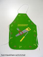 Schulschürze Werkschürze Kinderschürze Malschürze HOBBY grün Gr. 134 / 140
