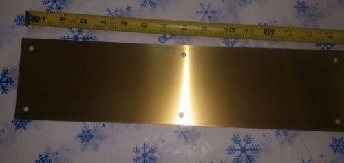 Don Jo Company 71-605 Push Plate 4 X 16 Us3 brass