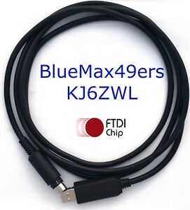 Details about FTDI USB CAT Programming Cable Yaesu FT-857 FT-857D FT-897  FT-897D CT-62
