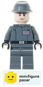 sw352 Lego Star Wars 10221 - Admiral Firmus Piett Minifigure - New