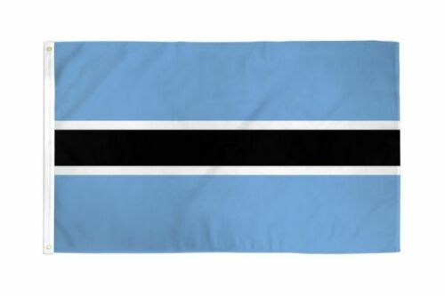 Botswana flag 2X3ft poly