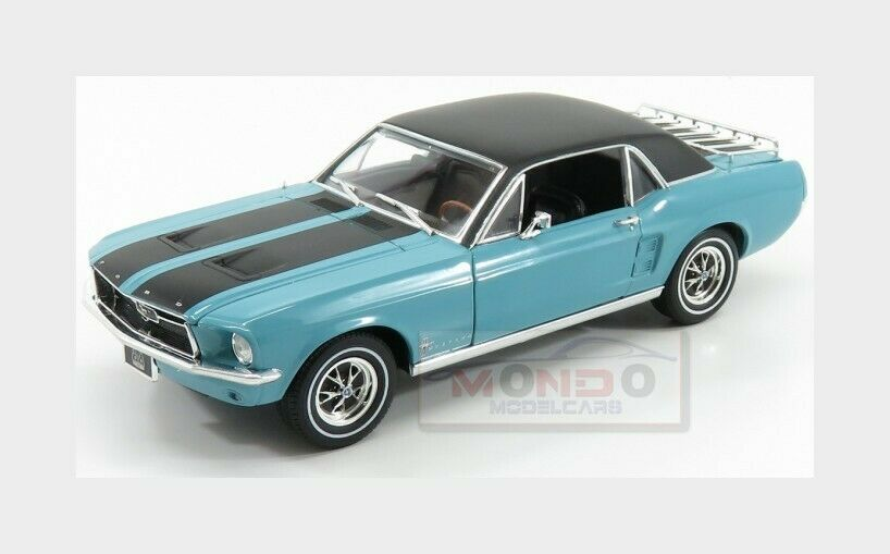 Ford Usa Mustang Coupe Ski Country Special 1967 GREENLIGHT 1 18 GREEN13535 Model