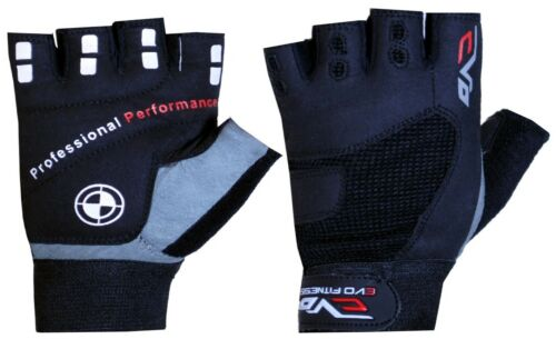 EVO Fitness Weightlifting Gym Gloves,Cycling Gloves Bodybuilding Gym Straps Gear