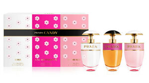 cf305a0d Details about Prada Candy Perfume Collection / Candy + Candy Kiss + Candy  Florale 0.68 oz Each