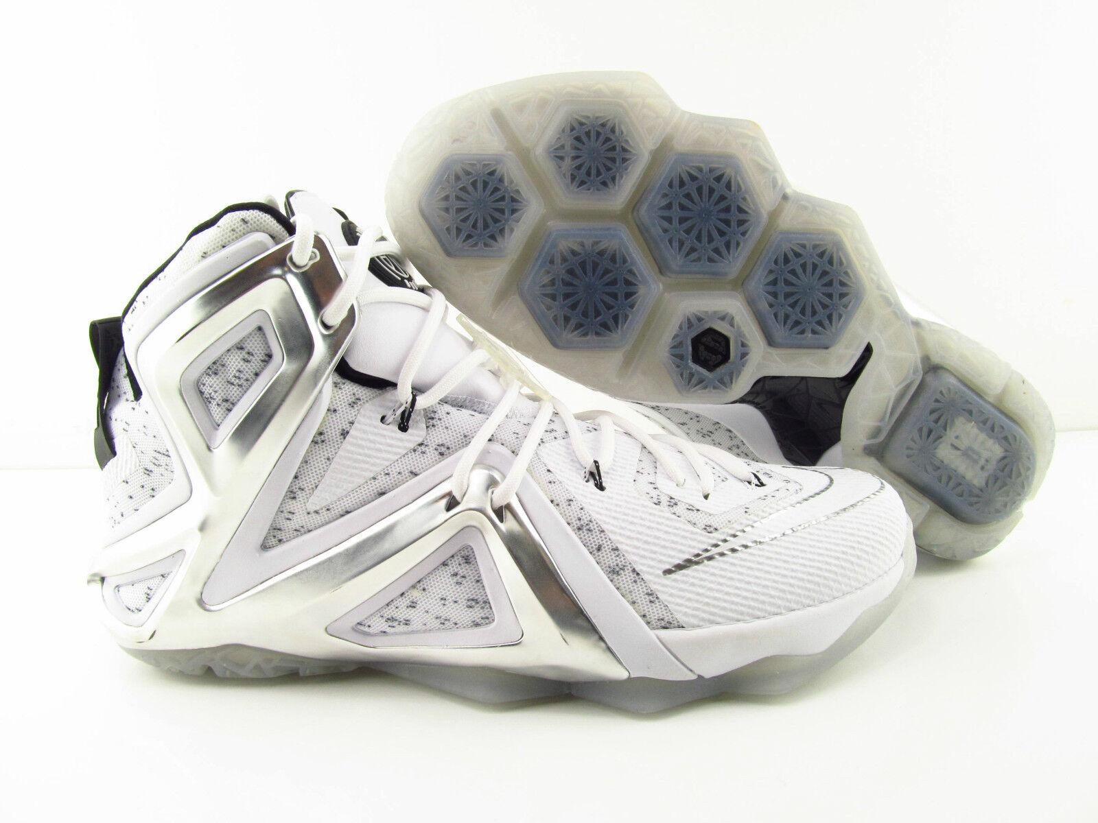 Nike Lebron XII 12 Elite SP / Pigalle Pure Platinum New UK_11 US_12 Eur_46