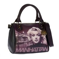 Women's Handbag Disney Bauletto Shoulder Strap Audrey Marilyn Monroe Brooklyn