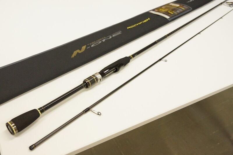 Major Craft N-ONE 2 piece rod  NSL-T792L TUBULAR