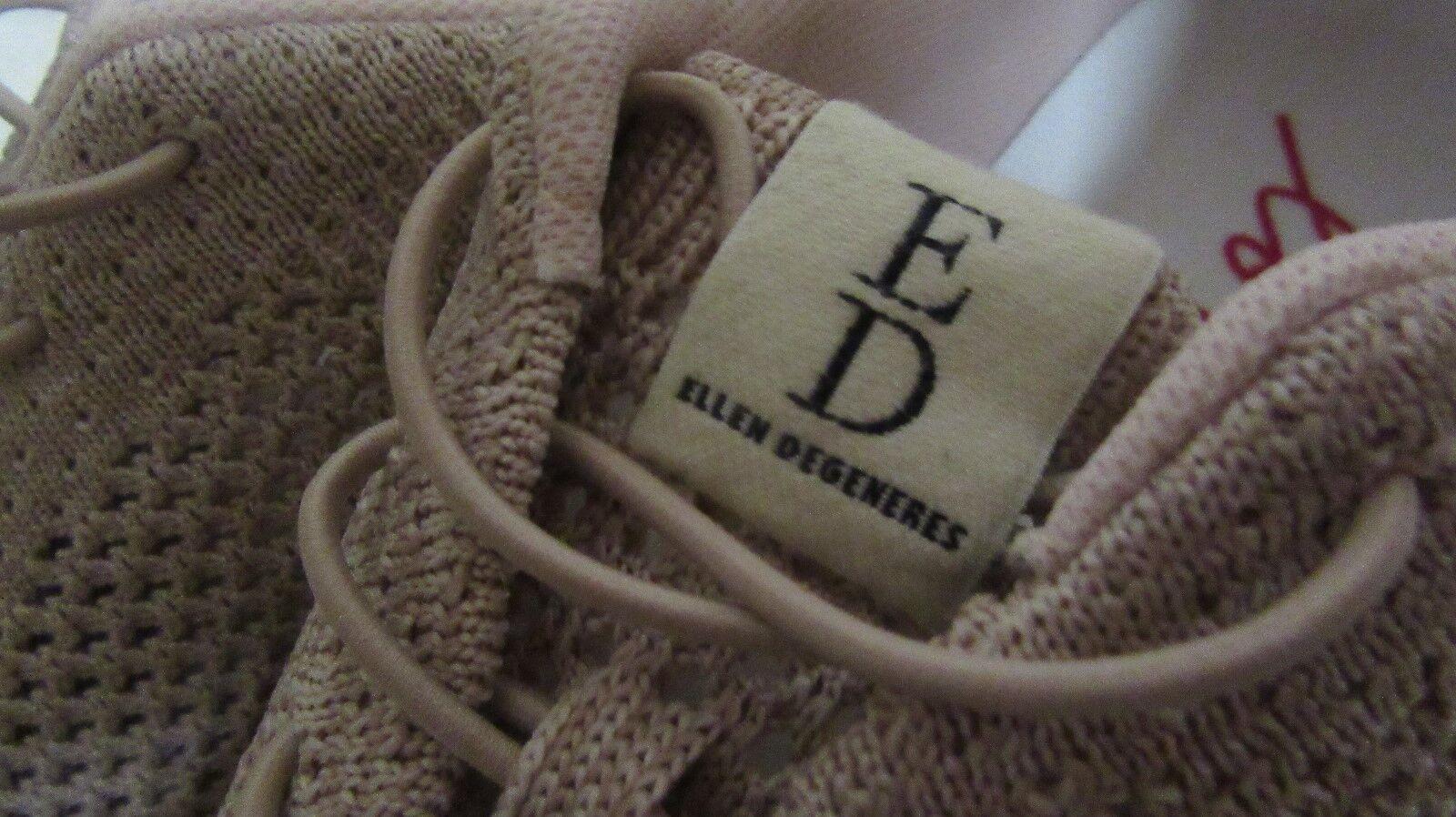 WOMEN`S ELLEN ELLEN ELLEN DEGENERES ATHLETIC SNEAKERS SIZE 9.5 M NEW ED-CASIE PNK c4cc9c