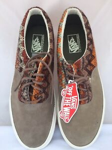 11b8ad3752 VANS ERA DX Suede Knit Walnut Men s Shoes 11 VANS SHOES SIZE 11