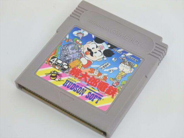 Game Boy Super MOMOTARO DENTETSU Peach Boy Cartridge Only gbc
