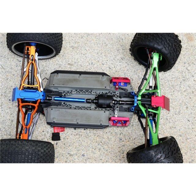 Traxxas 1//10 E-Revo Brushless 56087-1 Steel Aluminum Front /& Rear Drive Shaft