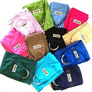 NEW-WALKABOUT-Baby-Ring-Sling-Carrier-Pouch-Wrap-5-Position-Various-Colours