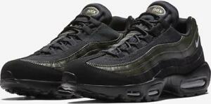503a0fe1e5 NIKE AIR MAX 95 ESSENTIAL 749766 034 BLACK/WHITE/SEQUOIA GREEN ...