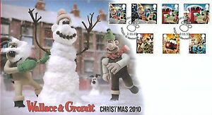 GB 2010 CHRISTMAS SET, BUCKINGHAM COVERS OFFICIAL FDC