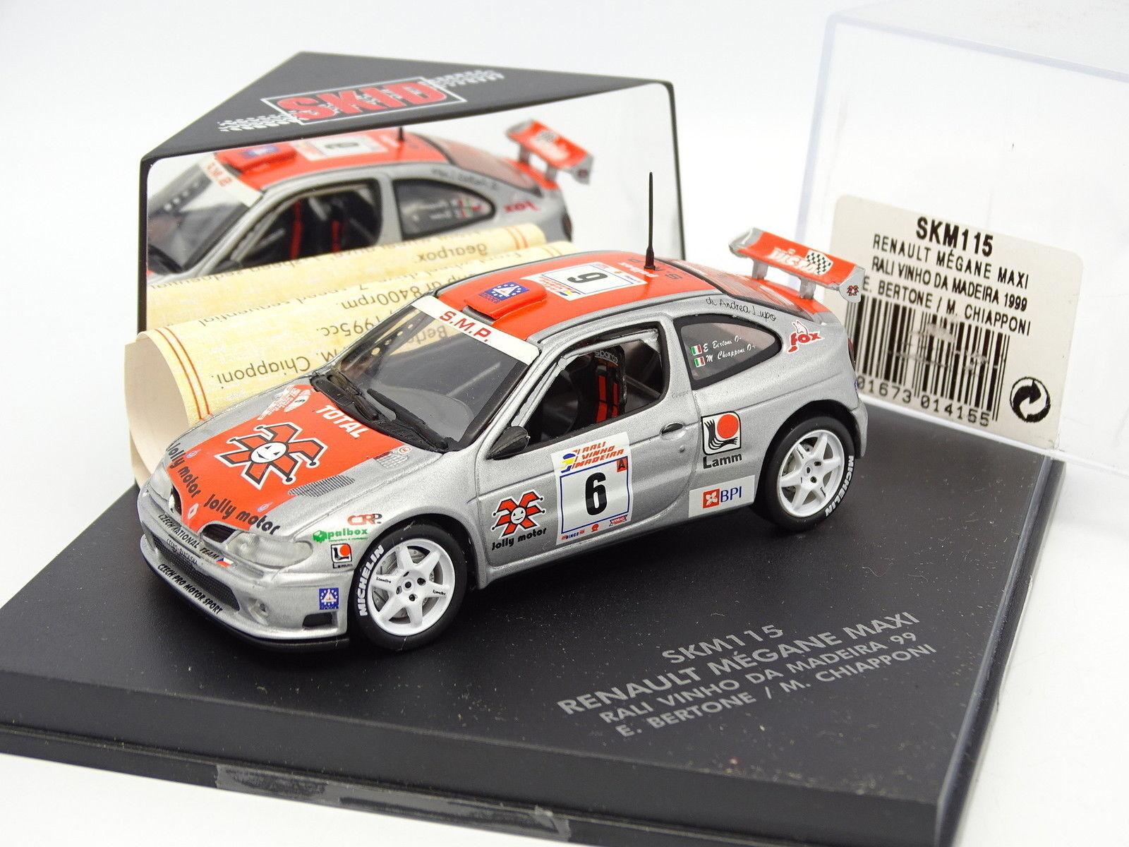 Skid Velocidad 1 43 43 43 - Renault Megane Maxi Rallye Vinho Madeira 1999 49f815