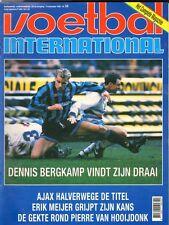 V.I. 1993  nr. 50 - OGURA/VAN HOOIJDONK/INTER MILAN & BERGKAMP/EWALD LIENEN
