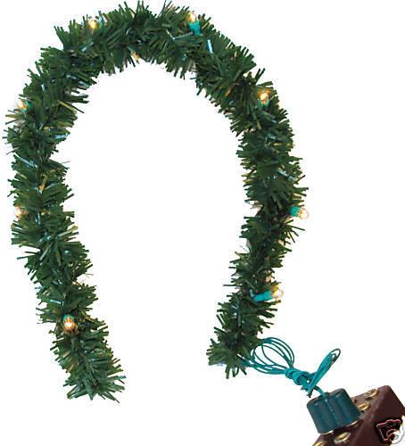 1 Meter Blätterranke Weihnachtskrippe Puppenhaus. Girlande
