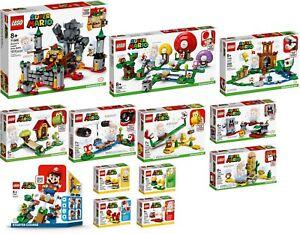 LEGO-Super-Mario-71360-71362-71363-71364-71365-66-67-68-69-70-71-723-VORVERKAUF