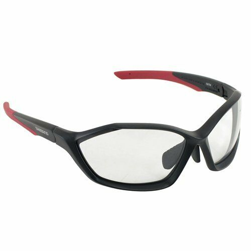 92dcb1c48c7 Shimano Ce-s71x-ph Photochromic Cycling Sport Sunglasses Mat Black X Red  for sale online